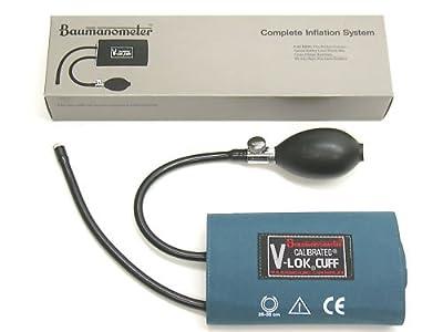NEW BAUMANOMETER 1820 Sphygmomanometer Blood Pressure V-Lok Cuff Inflation System, ADULT