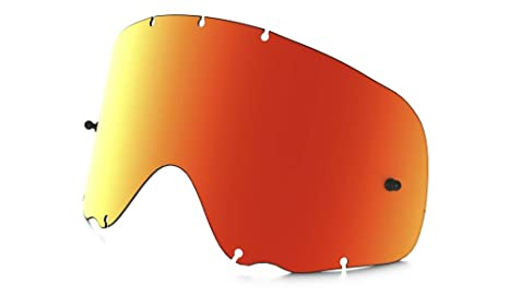 3ef44352ba Oakley Crowbar MX Adult Replacement Lens Off-Road Motorcycle Goggles  Accessories - Fire Iridium