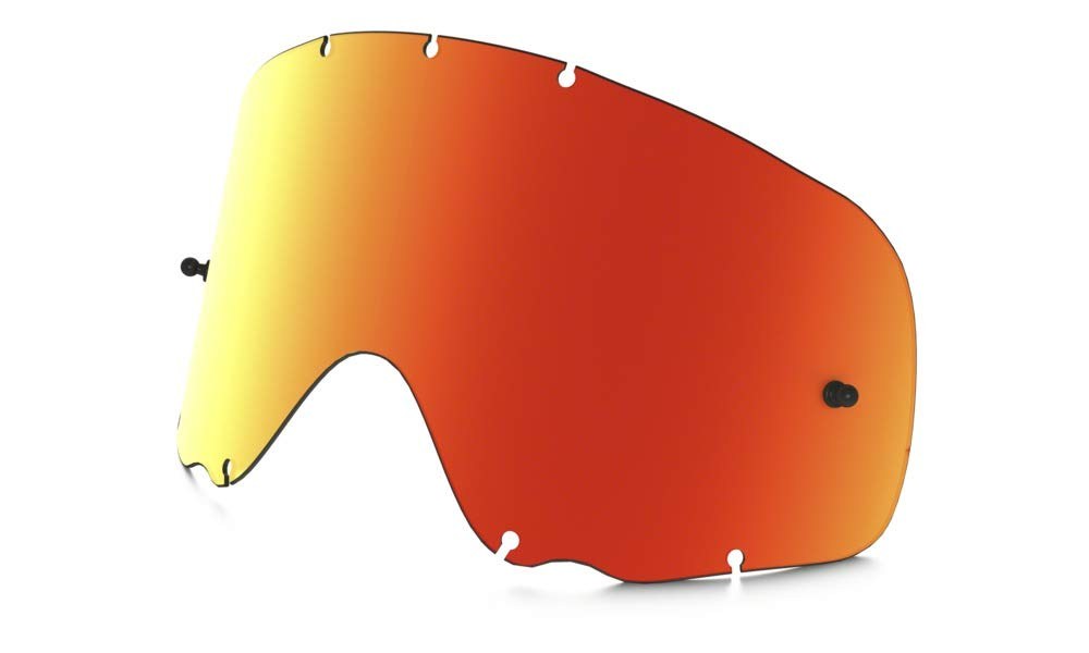 Oakley Crowbar MX Adult Replacement Lens Off-Road Motorcycle Goggles Accessories - Fire Iridium/One Size