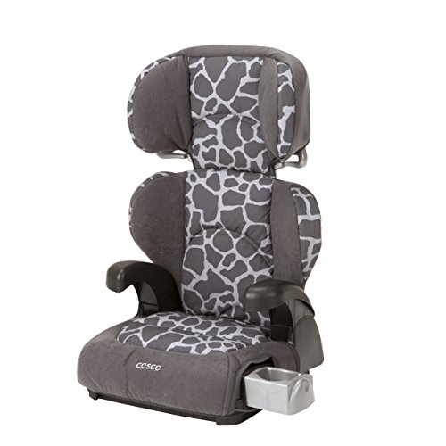 Cosco Pronto! Booster Car Seat for Children, Adjustable Headrest, Integrated Cup Holders, Kimba Cosco Toddler Car Seats
