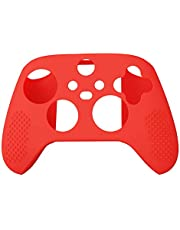 JSLING Silicone Cover Skin Case for XBox Series S/X Controller Soft Anti-Slip Rubber Protective Case for XBox Series S/X Wireless Controller Rubber Gel Cover --- ONLY Cover