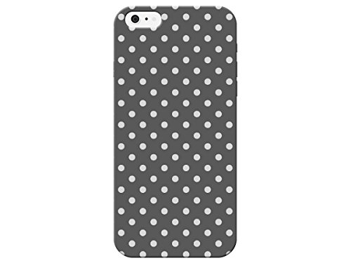 iCandy Products Quality Grey Polka Dot Phone Case for the Iphone 5 / 5s (Iphone 5 Polka Dot Case)