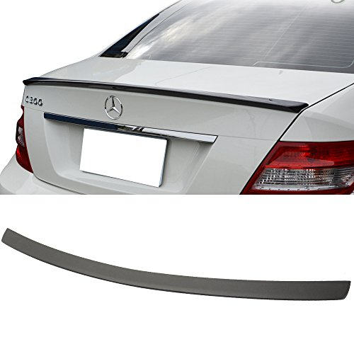 2008-2014 Mercedes-Benz C-Class W204 4Dr AMG Style Unpainted ABS Trunk Spoiler