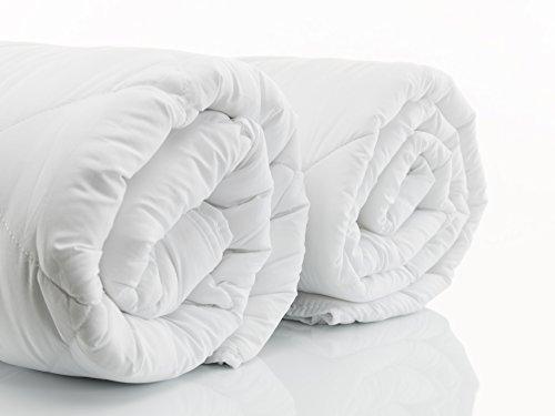 Deluxe Hypoallergenic 100% Royal Alpaca Duvet Comforter covered 100% Peruvian Pima Cotton 600-threads 590 gr/m2, Extra Single-size (58