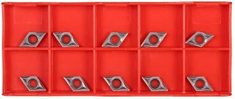 QKP 10 Teile/Schachtel DCMT0702 YBC205 Hartmetall Einsätze CNC Klingen Set Für Drehmaschine Drehen Bohrwerkzeug