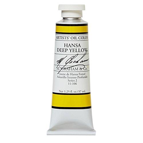 M. Graham & Co. Oil Paint, Hansa Yellow Deep