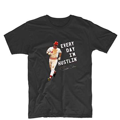 Everyday Im Hustin Pete Rose Unisex Personalized T Shirt Design T Shirt
