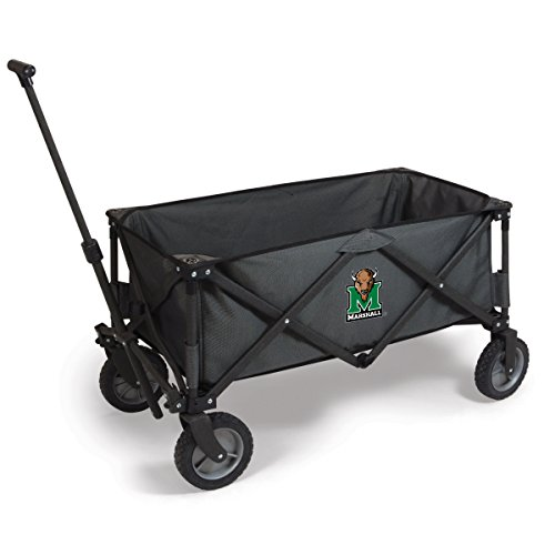 NCAA Marshall Thundering Herd Adventure Digital Print Wagon, One Size, Dark Grey/Black by PICNIC TIME