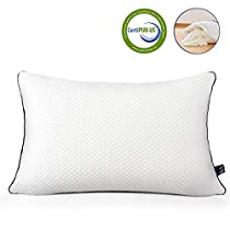 Bedstory Cool and Warm Reversible Pillow Luxury Adjustable Loft Shredded Momery Foam Pillows for Sleeping 3D Mesh Hypoallergenic Breathable Cover Neck Pain Relief Bed Pillows for Sider Back Stomach Sleeper