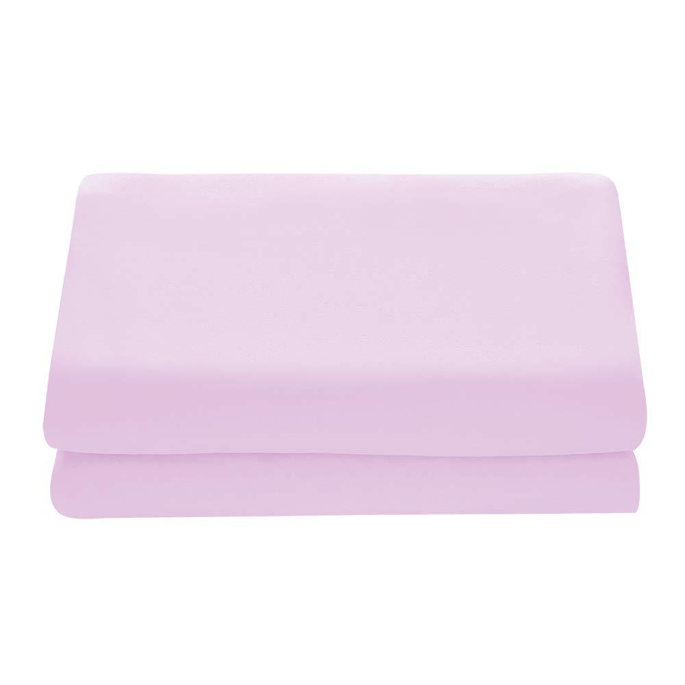 Comfy Basics 1ピース ウルトラソフトフラットシーツ – エレガントで通気性あり Twin - Flat Sheet Only ピンク B07QD2HR2H ライトピンク Twin - Flat Sheet Only