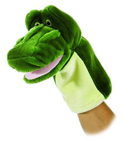 Alligator Puppet<br>Aurora World<br>Approx 10 Inches