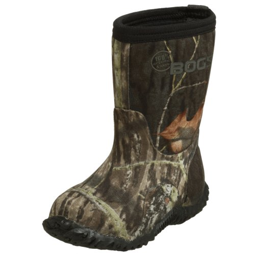 - Bogs Classic Mid Mossy Oak Waterproof Insulated Rain Boot (Toddler/Little Kid/Big Kid),  Mossy Oak, 7 M US Toddler