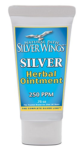 Natural Path Silver Wings Silver Herbal Ointment, 0.75 Fluid Ounce -