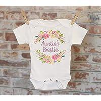 Auntie's Bestie Onesie - Aunt Onesie Gift For Niece Cute Baby Bodysuit Cute Boho Baby Onesie Girl Onesie
