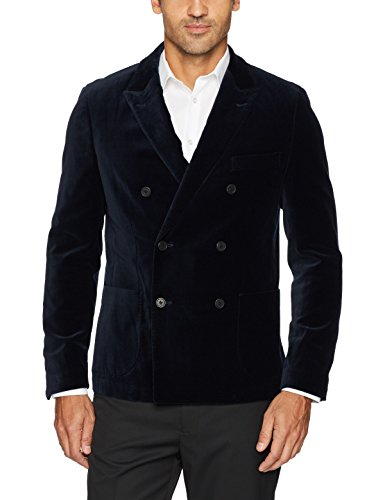 Double Breasted Sport Coat - 4