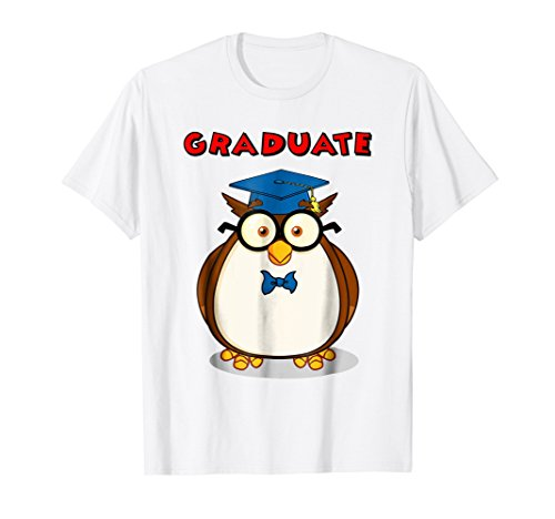 The Graduate Owl Tee Owl Teacher T Shirt
