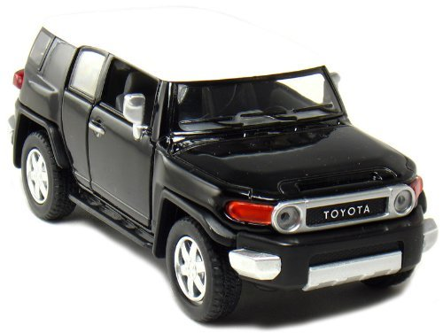 Set of 4: 5 Toyota FJ Cruiser 1:36 Scale (Black/Blue/Red/Yellow) by Kinsmart: Amazon.es: Juguetes y juegos