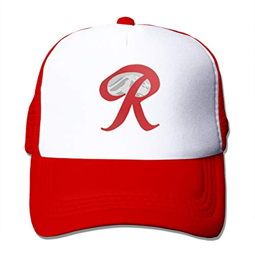 HiPiClothK Unisex Rainier Beer Capital R Mountain Trucker Hats