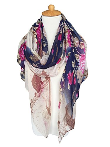 GERINLY Womens Scarves Ferris Wheel product image