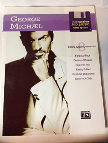 George Michael - Interactive Midi Music with Lyrics - 8 Midi