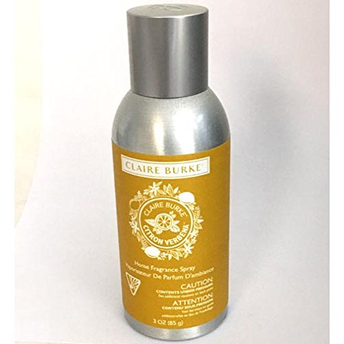 Claire Burke Home Fragrance Spray 3 Oz. Box of 6 - Sparking Citrus Verbena by Claire Burke