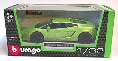 Burago Lime Green Lamborghini Gallardo Lp 560 4 Car 1 32 Scale