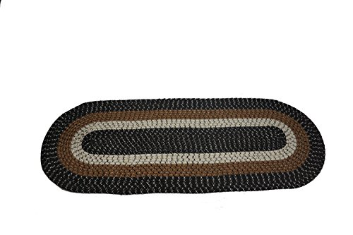 Emerald Wholesale Oval Braided Rug Runner, 22