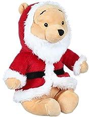 Pooh Stuffed Doll with Santa Costume - Multi Color