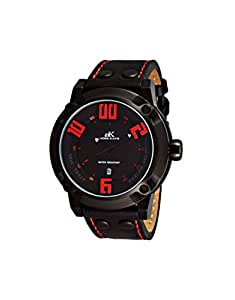 ADEE KAYE AK7281-MIPB/RD - Reloj de pulsera hombre, color Negro