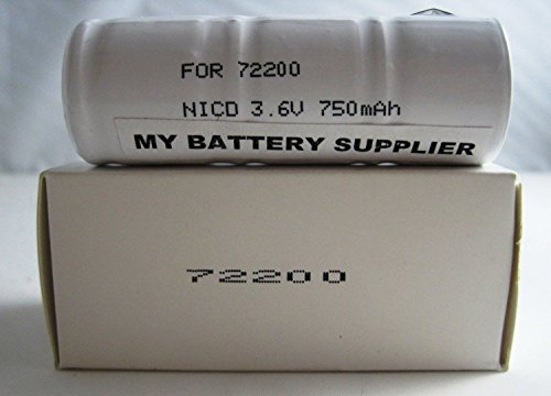 Replacement Welch Allyn 72200 (NiCd) Nickel Cadmium Medical Battery (Nicad Welch Battery)