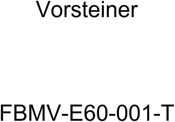 Vorsteiner FBMV-E60-001-T Tan Embroidered Velour Floor Mat - 4 Piece