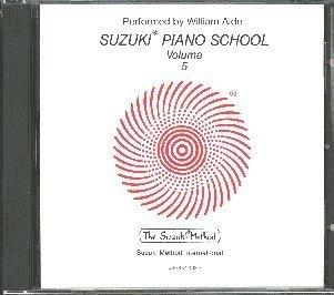 Suzuki Piano School Volume 5 - Compact Disc - Volume Compact School Disc 5