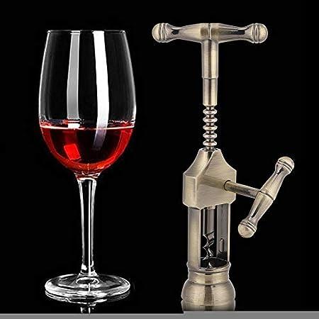 sacacorchos, abridor de vino para botella de vino extractor de corcho accesorios de barra, cobre para botella de vino