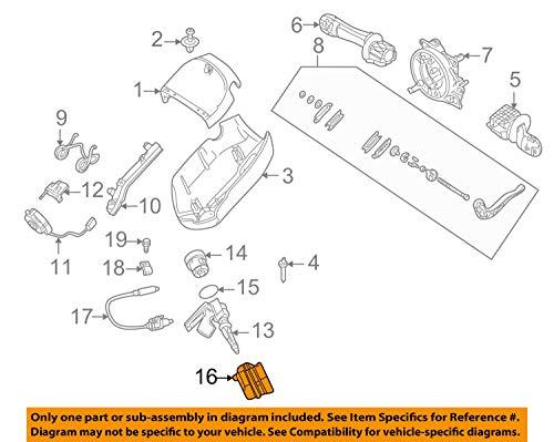 BMW 61-32-6-901-961 Ignition Switch