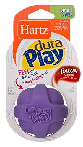 HARTZ Dura Play Bacon Scented Dog Ball - Small