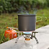 WADEO 3700W Camping Gas Stove, Portable Backpacking