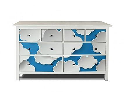 yourdea Muebles de pantalla para cómoda de Ikea hemnes 8 cajones/Muebles de pegatinas para