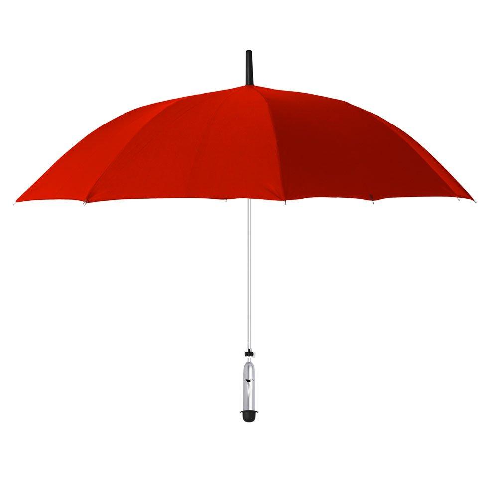 OPUS ONE(オーパスワン) 新しい天気情報を提供するスマート傘 JONAS Red ローズレッド OP007 B01J9YMPW8レッド