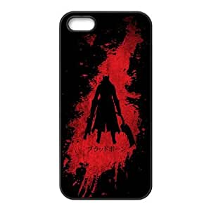 Special Design Cases iPhone 5, 5S Cell Phone Case Black Zviaa Bloodborne Durable Rubber Cover