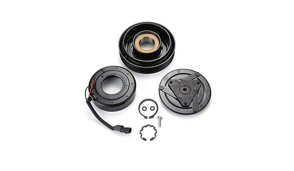 Nissan Altima 6 Cyl 3.5L 2007 - 2012 a/c Kit de embrague del compresor AC (Polea, rodamientos, Coil, plate): Amazon.es: Coche y moto
