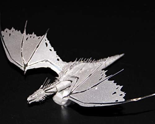 3DメタルモデルキットパズルジグソーパズルDIY接着剤フリーのアセンブリモデルの大人の子供のレジャーおもちゃ