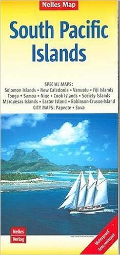 South Pacific Islands Nelles 1:13M