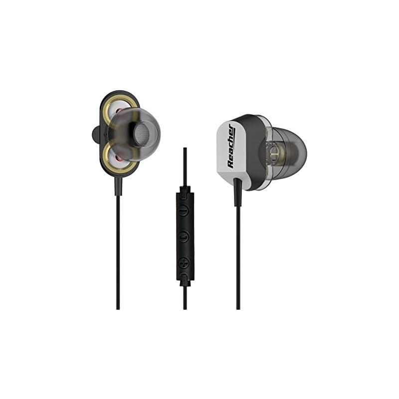 Reacher Wired In-Ear Earphones with Dual