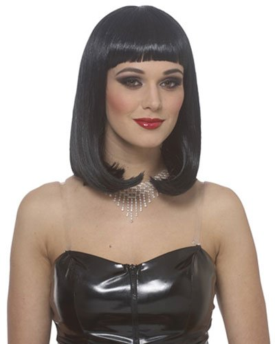 Peggy Sue Wig in Black, One size