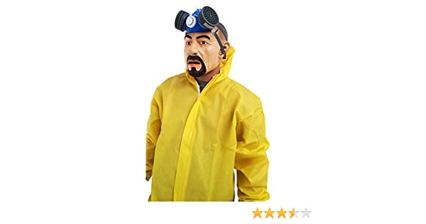 shoperama Disfraz de Breaking Bad Heisenberg Walter White Mono Gas ...
