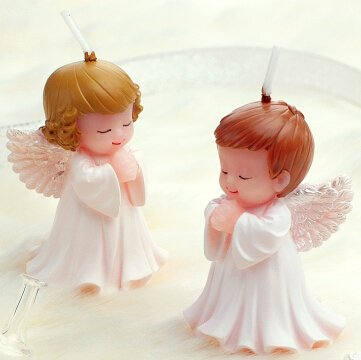 Mini Baby Angel Scented Candle Cake Topper Wedding Party ...