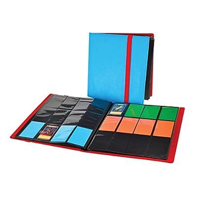 Dex Protection Dex Binder 12 Black Deluxe Portfolio 12-Pocket Velvet-Lined Playset Album Holds 480 Cards Double Sided, Side-Load Binder fits Magic, Pokemon, Yu-Gi-Oh: Toys & Games