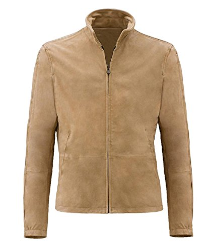 Suede Jackets Men (Decrum Mens Morroco Suede Leather Jacket |M)