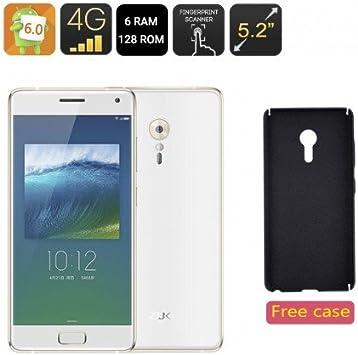 Lenovo ZUK Z2 Pro Smartphone - 5,2 Pulgadas, 6GB RAM + 128GB de ...