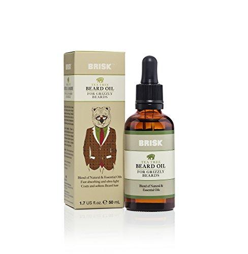 tea tree beard oil blend